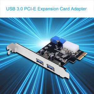 Image 4 - kebidumei High Quality USB 3.0 PCI E Expansion Card Adapter External 2 Port USB3.0 Hub Internal 20pin Connecter PCI E Card
