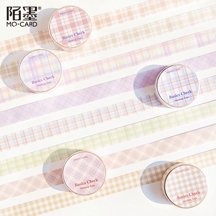 1Pcs / Diy Diary Washi Tape Cute Decorative Adhesive Tape Masking Tape For Stickers Scrapbooking DIY Stationery Tape