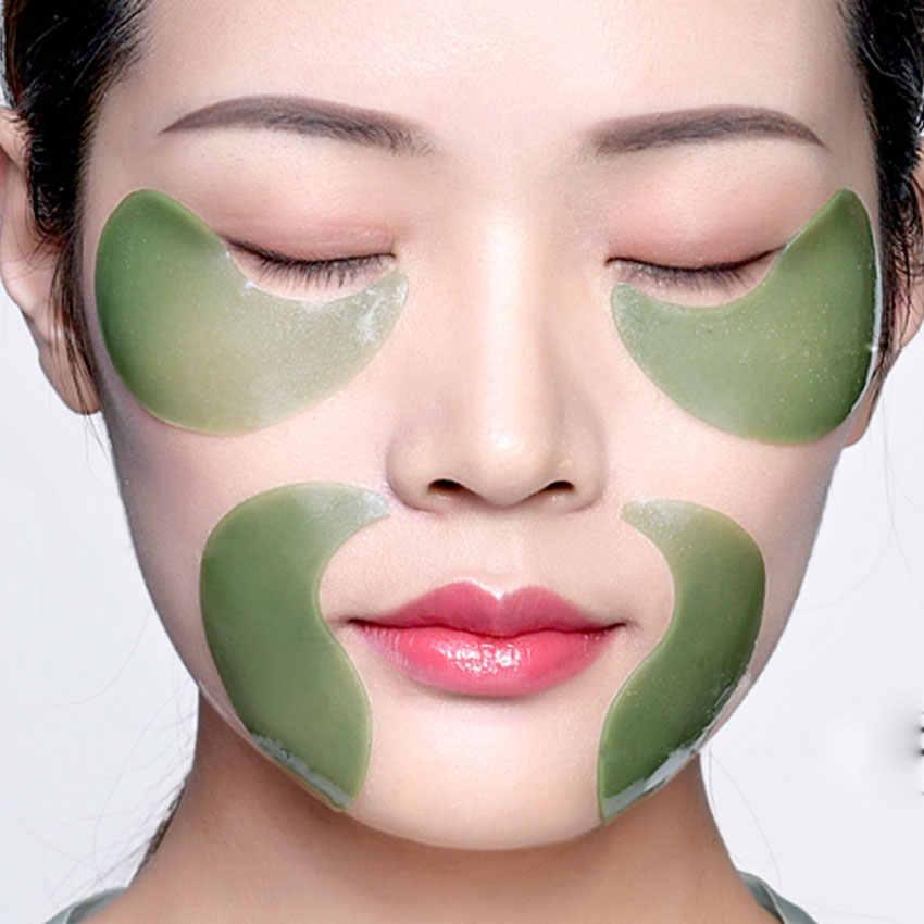 クリスタルコラーゲン海藻アイアンチエイジングマスクくまにきび美容アイパッチのためのスキンケア