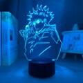Аниме лампа Megumi Fushiguro светильник Jujutsu кайсен светодиодный ночной Светильник для подарка на день рождения Jujutsu кайсен Megumi Fushiguro лампа