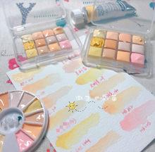 12cores de aquarelle coleção van gogh, bela bandeja de embalagem de aquarelle para a escola 12 cores