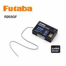 Original Futaba R203GF 2,4G 3-kanal S-Fhss mirco empfänger für 4PL 4PLS 3PRKA 3PV 4PV 4PM 7PX fernbedienung rc auto zubehör