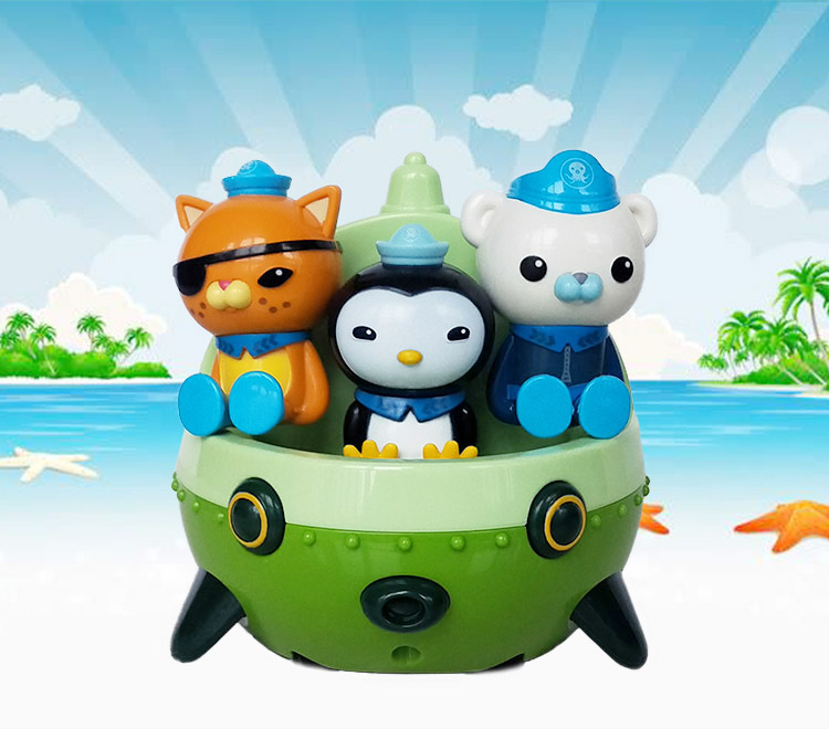 Image 4 - The Octonauts Action Figure Toys Octonauts Car Captain Baby Children Xmas Gift with Retail boxAction & Toy Figures   -