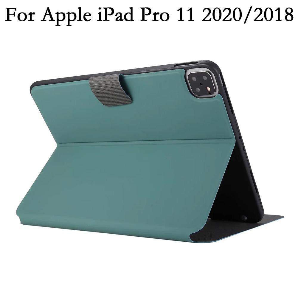TPU Pencil Slot Flip Tablet Case for iPadpro iPad Pro 11 pro11 2021 2020 2018 A2228