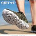 Мужская обувь Aqua, дышащая прогулочная пляжная быстросохнущая водонепроницаемая обувь, Уличная обувь для рыбалки, Водная обувь, мужские кро...