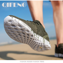 Men Aqua Shoes Breathable Trekking Wading Beach Quick Drying Water Shoes Outdoor Fishing Wading Shoes Water Sneakers Men Lace Up breathable quick drying aqua shoes mujer for beach women men five fingers water shoes unisex outdoor sneakers swimming shoes