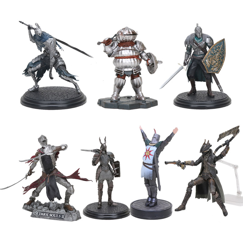 Dark Souls DXF Faraam Knight figure toy The Abysswalker Dark Souls PVC Action Figures Collectible Model Toy