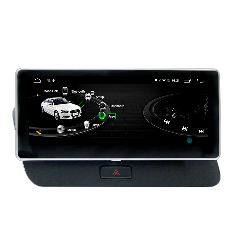 """10.25"""" Android 9.0 Car Dvd Player for Audi Q5 2009-2016 with 4+32GB WIFI GPS Navigation Car Video Car Radio"""