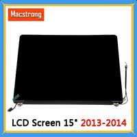 Ensamblaje de pantalla LCD probado A1398 para Macbook Pro 15 A1398 LCD montaje de pantalla completa de 2013 finales de mediados de 2014 661 de repuesto-8310