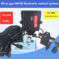 NEW Gas ECU kits for MP48 Firmware 9.1 software version 6.2 gasoline LPG CNG gas conversion kits for car LPG system kit