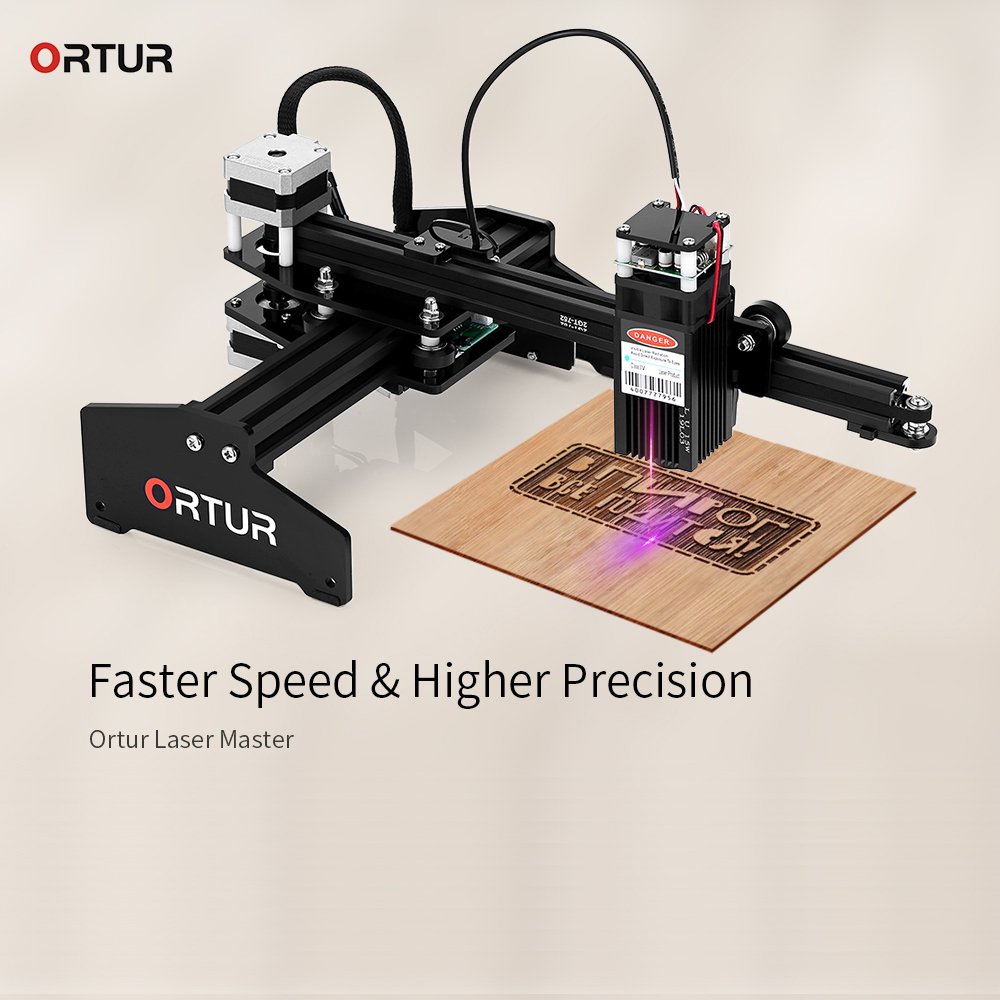 Ortur Laser Master 7W Personal Laser Engraving Machine DIY Laser Engraver Metal Cutting Machine 3D Printer Support Windows IOS