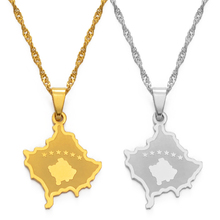 Pendant Necklaces Jewelry Anniyo Kosoves Girls Women for Silver-Color/gold-Color -148021