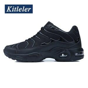 Image 2 - Nova almofada de ar dos homens tênis verão sapatos casuais respirável formadores sapatos kitleler tenis masculino schoenen mannen