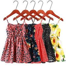 2020 New Girl Clothes Fashion Flower Sleeveless Dresses 3-13Y Child  Dresses Summer Kids  A line Beach Dresses 13y ga46nnbmb3sr4lv0 0 13y page 4