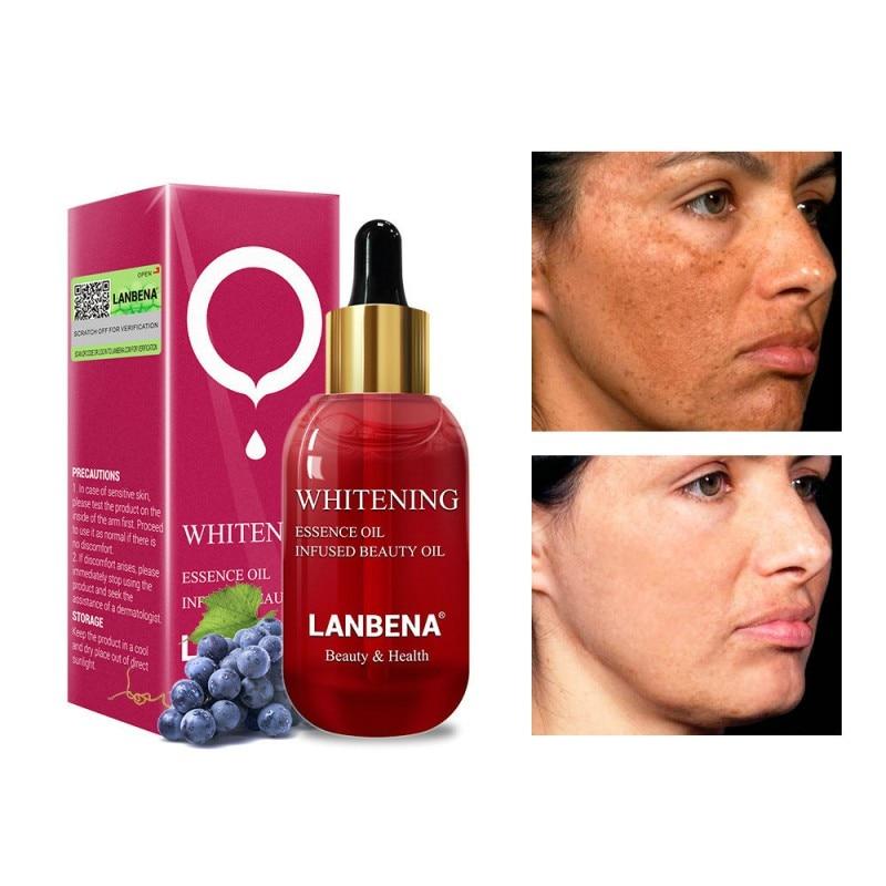15ml Whitening Essential Oil Vitamin C Skin Serum Face Cream Remover Speckle Fade Dark Spots Nourishing Firming Anti-Aging