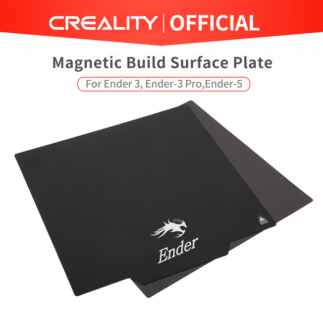 CREALITY 3D Flexible Magnetic Build Surface Plate Pads Ender 3/Ender 3 Pro/Ender 5/CR 10S Heated Bed parts for MK2 MK3 Hot bed