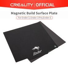 CREALITY placa de superficie de construcción en 3D, accesorio flexible y magnético, almohadillas Ender 3/Ender 3 Pro/Ender 5/CR 10S, piezas de cama caliente para MK2 MK3