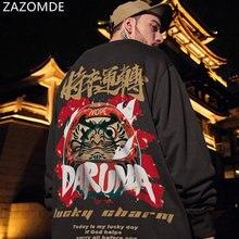 Пуловер zazomde мужской свитшот пуловер в стиле хип хоп Повседневная