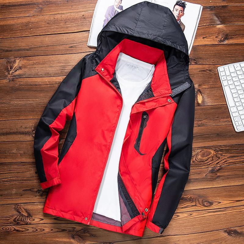 Raincoat Jacket Men And Women Thin Type For Spring And Autumn Outdoor Waterproof Jacket Men And Women Tops Windproof Waterproof