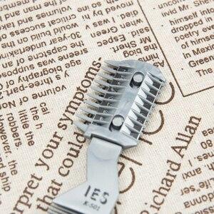 Image 4 - 1 pc escova de cabelo profissional pente navalha de corte de barbear desbaste pente trimmer pente com lâmina pentes ferramenta estilo do cabelo