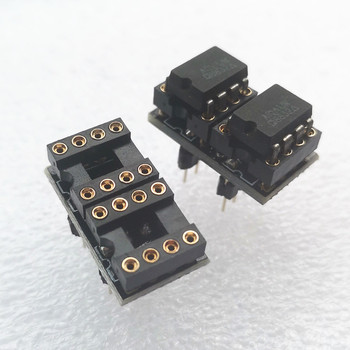 2 piece Single op amp to dual socket Op adapter Gold-plated for AD797 NE5534 - discount item  10% OFF Portable Audio & Video