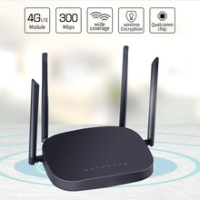 3G/4G LTE Wifi Router 300Mbps Wireless 4G CPE Router with 4 5Dbi Antenna Support 4G to LAN Device(China)