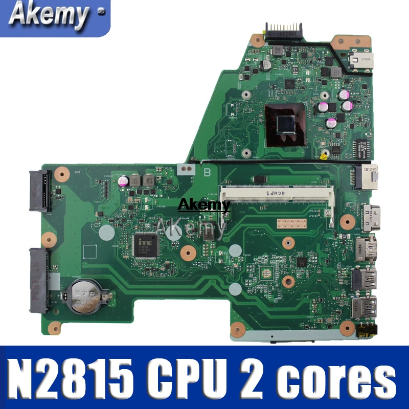 X451MA  Laptop Motherboard REV 2.1 For ASUS F451M X451M X451MA Mainboard DDR3 100% Test N2815 CPU 2 Cores