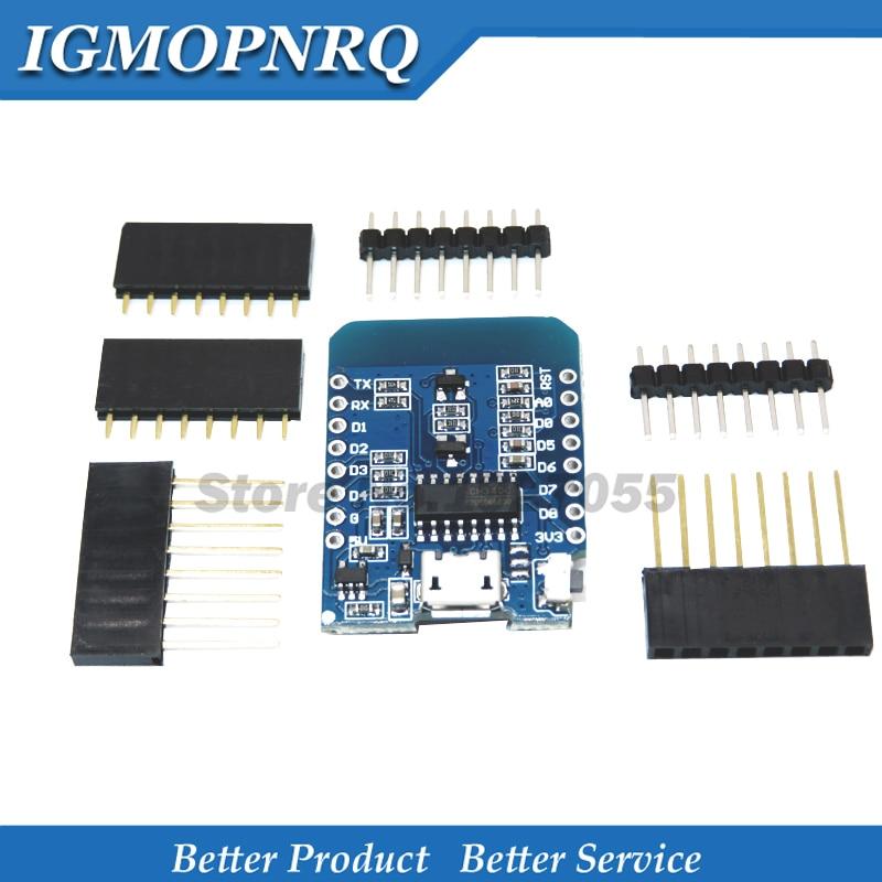 1 шт., плата разработки D1 - NodeMcu 4 МБ, Lua, Wi-Fi, Интернет вещей, ESP8266 от WeMos