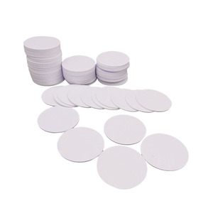 Image 3 - (100PCS/LOT) 13.56Mhz NFC 25MM Sticker Adhesive Coin Cards Tags Ntag213 (Compatible 203 ) PVC Waterproof For All NFC Phones