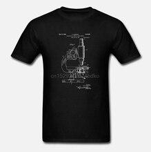 Микроскоп футболка научная футболка микроскоп запатентованная биология подарок биолога