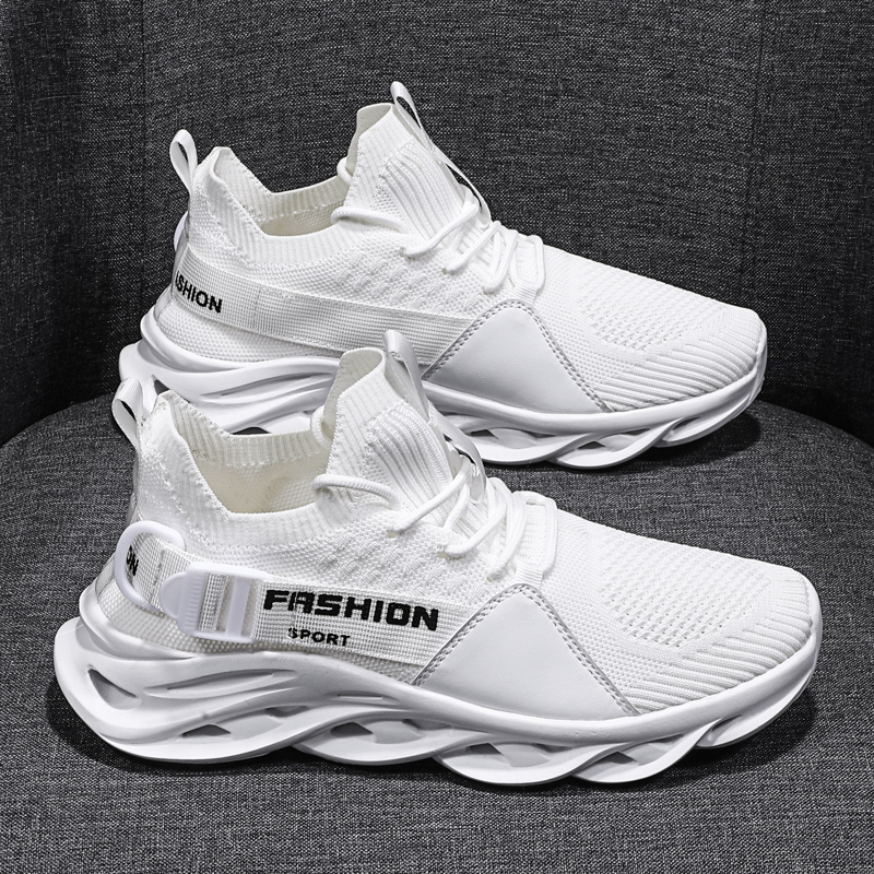 Summer Men Shoes Breathable Mesh Casual Men Shoes Outdoor Cutout Sport Sneakers Men Tenis Masculino Adulto NonSlip Walking Shoes
