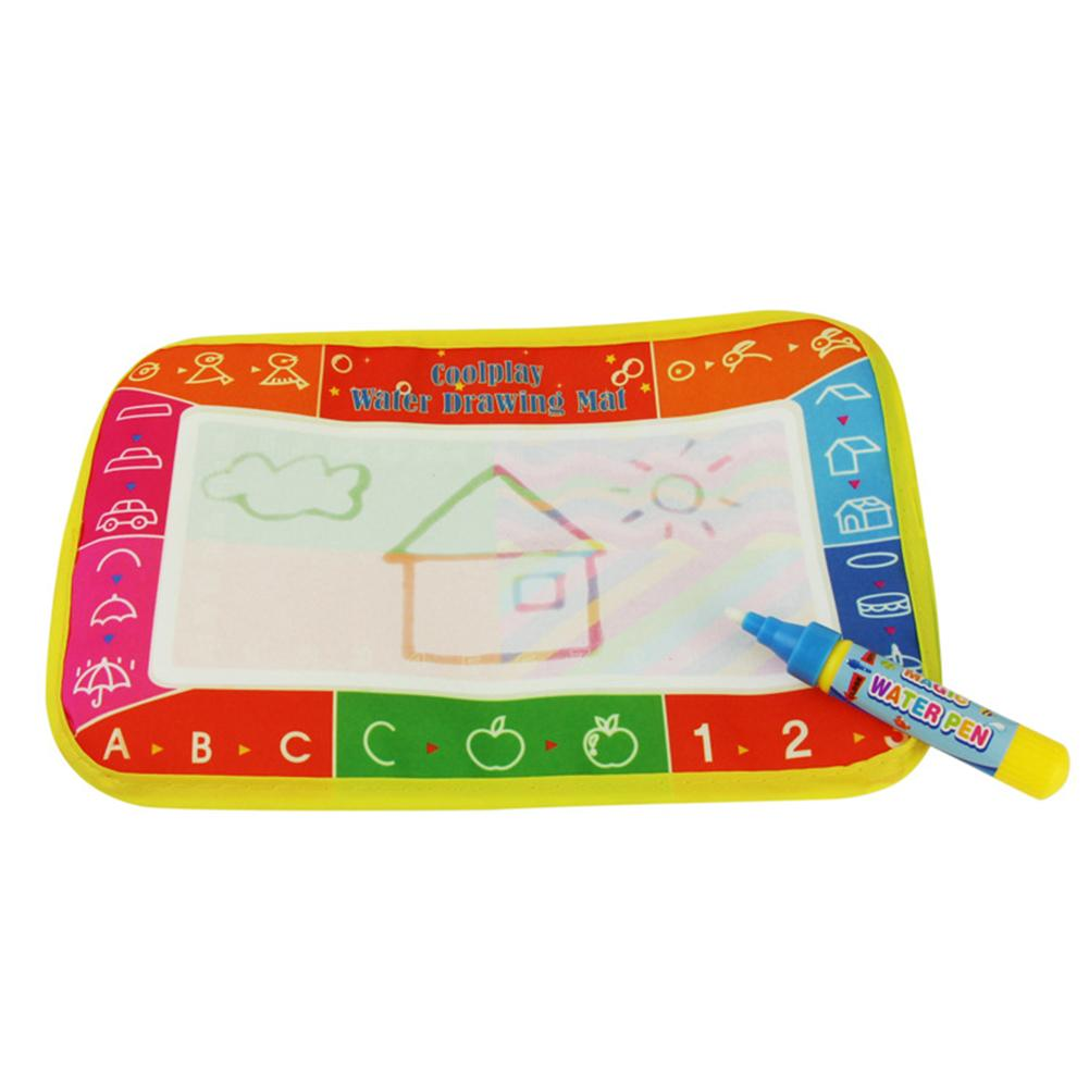 Baby Kids Water Drawing Painting Writing Mat Board Magic Pen Doodle Toy Gift