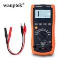 Цифровой Профессиональный карманный измеритель индуктивности  тест на непрерывность с тестером  зонды для мультиметра с подставкой WP-A623