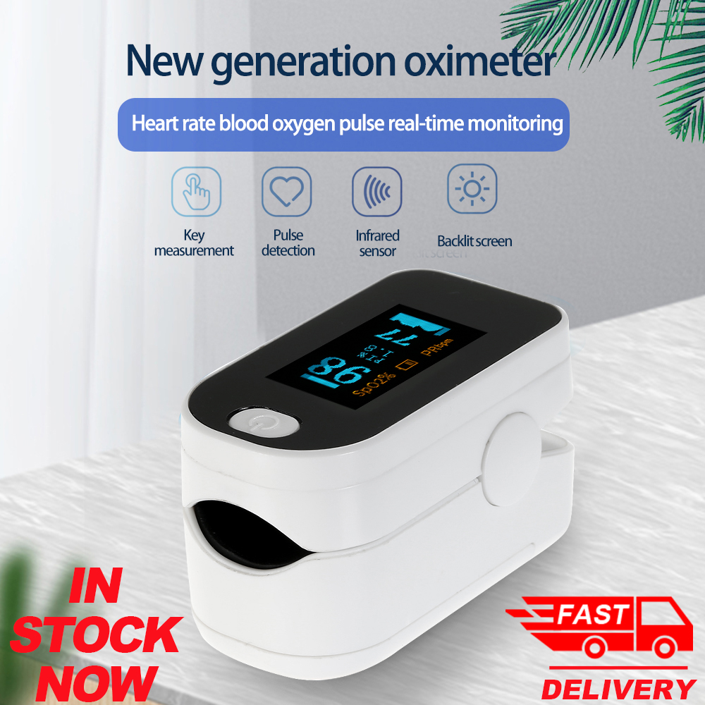 Portable Finger Oximeter Oled Pulse Oximeter Oxygen Saturation Monitor SpO2 Oximetry Monitor Health Care Oximetro De Dedo