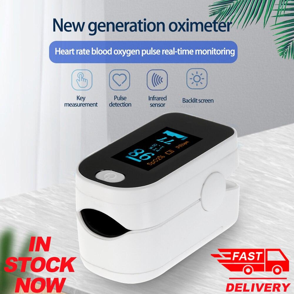 Portable Finger Oximeter Oled Pulse Oximeter Oxygen Saturation Monitor SpO2 Oximetry Monitor Health Care Oximetro De Dedo