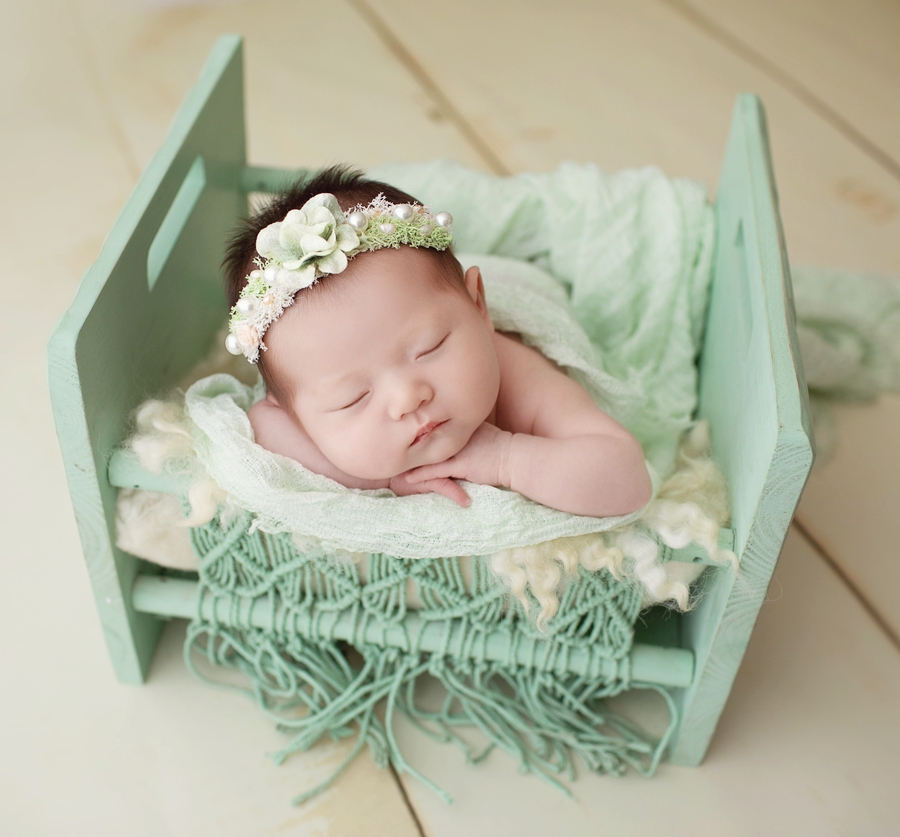 Handmade Wooden Baby Bed Newborn Props For Photography,Vintage Baby Posing Crib Newborn Photo Prop,#P2206