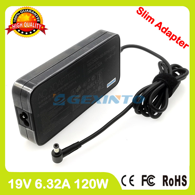 19V 6.32A ac адаптер питания ADP-120RH B зарядное устройство для ноутбука Asus Pro8F Pro8S N73SM N73SV N75S N75SF NX90 NX90JN ZX50J ZX50JX X93SM