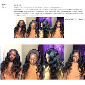 Image 5 - Shuangya Hair 3 Bundles Deals Brazilian Body Wave Hair 100% Human Hair Weave Bundles Natural Color Remy Hair Extension