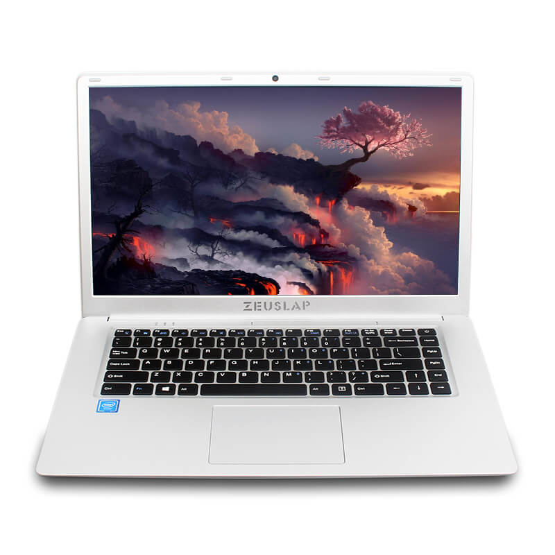 Laptop 15.6inch Narrow Frame 1920x1080P FHD IPS Intel Quad Core  CPU 4GB RAM DDR3 64GB EMMC Windows 10 Ultrabook Laptop Notebook