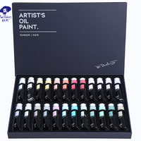 40ML Paul Rubens Oil Color Art Supplier Professional Oil Paint Set For Artist And Painter