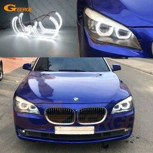 Image 1 - מצוין DTM סגנון Ultra בהיר led מלאך עיניים halo טבעות עבור BMW 7 סדרת F01 F02 F03 F04 730d 740d 740i 750i 760i 2008 2012