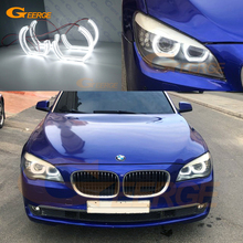 Excellent DTM Style Ultra bright led Angel Eyes halo rings For BMW 7 Series F01 F02 F03 F04 730d 740d 740i 750i 760i 2008 2012