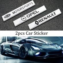 2 pçs logotipo do carro adesivo automotivo emblema adesivos carro emblema decalque do carro bens de automóvel para trd pro toyotas emblema acessórios