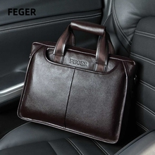 Men bag men's leather bag