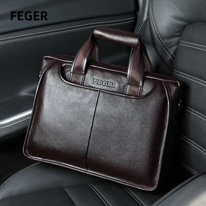 Men bag men's leather bag
