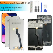 For Samsung Galaxy A10 lcd A105 A105F SM A105F 2019 lcd Digitizer Assembly  with frame a10 display replacement Repair parts