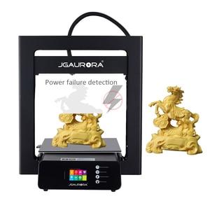 Image 5 - JGMAKER A5S 3D מדפסת מתכת מסגרת 305*305*320mm הדפסת עם SD כרטיס משודרג כוח אספקת JGAURORA