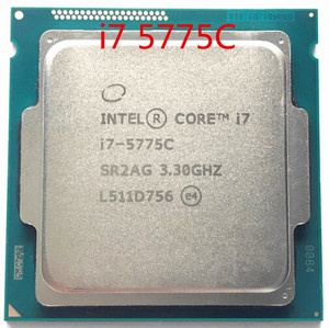 Intel Original Core I7 5775C I7-5775C 3.3GHz 14nm quad core desktops 65 W CPU Processor scrattered pieces