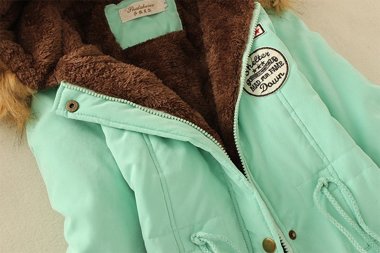 19 Parka Women Jacket Women Winter Coat Women Warm Hooded Women Parka Female Jacket Long Coat Parkas 16 Colour Free Shipping 13