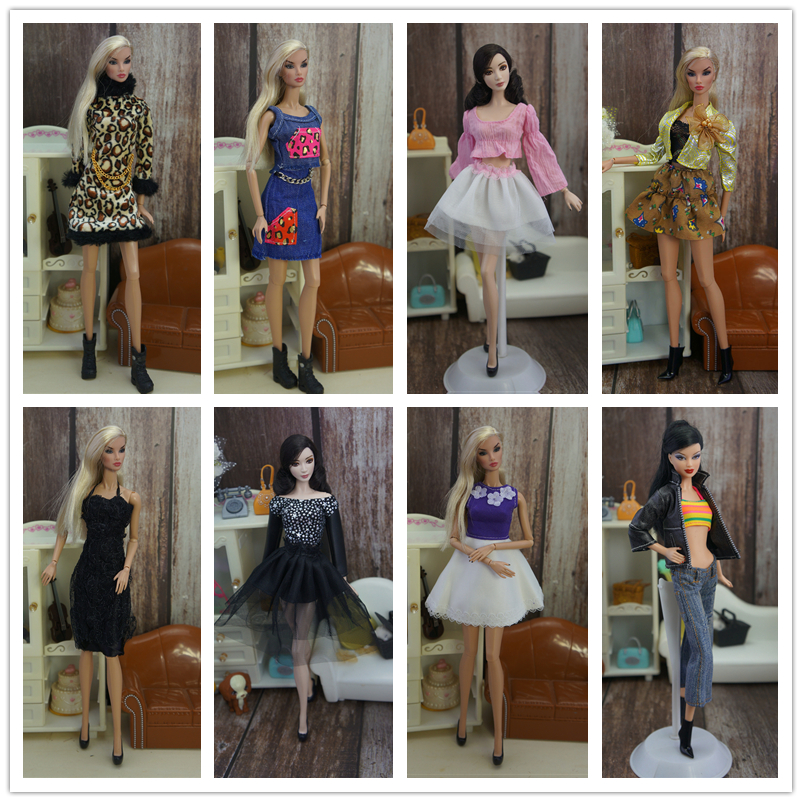 Clothing Set , Top + Shorts Skirt , Dress Pants Coat Clothes Suit Outfit For 30cm Barbie Kurhn FR Xinyi Doll, 1/6 Doll Clothes